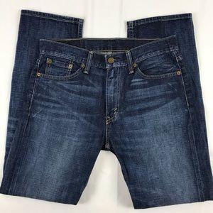 Levi's 513 31 x 30 Straight Leg Jeans 100% Cotton